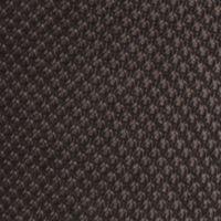 Mens Casual Socks: Black Saddlebred Mercerized Cotton Pique Neat Crew Socks - Single Pair