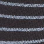 Mens Casual Socks: Navy Saddlebred Line Stripe Crew Socks - Single Pair