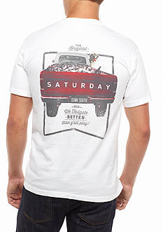 Saturday Down South Comfort Colors We Tailgate Better Than Y'all Play Comfort Tee