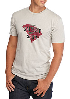 Saturday Down South South Carolina State of Mind Vintage Tee