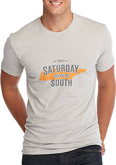 Saturday Down South Tennessee State of Mind Vintage Tee