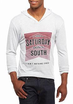 Saturday Down South Stacked Hoodie Tee
