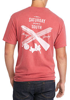 Saturday Down South Comfort Colors Southern Gent Pocket Tee