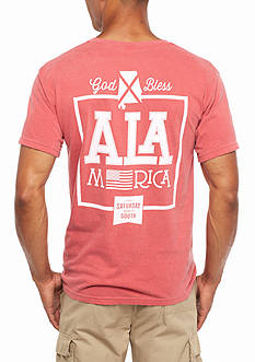 Saturday Down South Comfort Colors Alamerica Pocket Tee