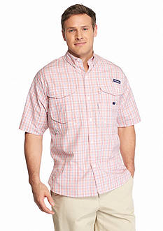 Columbia Big & Tall PFG Super Bonehead™ Classic Short Sleeve Shirt