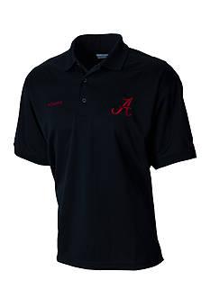 Columbia Short Sleeve Perfect Cast Alabama Crimson Tide Polo Shirt