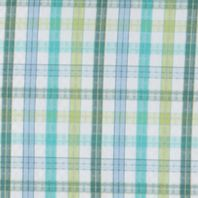 Fishing Apparel for Men: Napa Green Mini Plaid Columbia PFG Super Tamiami™ Short Sleeve Shirt