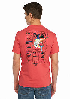 Columbia PFG Elements Marlin™ II Short Sleeve Graphic Tee