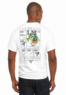 Columbia Short Sleeve PFG Elements Bass™ II Graphic Tee