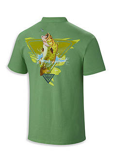 Columbia Big & Tall PFG By The Shore Bass Short Sleeve Tee