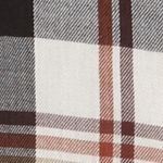 Outdoor: Casual Shirts: Chalk Multi Plaid Columbia Cornell Woods ™ Flannel Long Sleeve Shirt