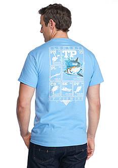 Columbia Big & Tall PFG Elements Tarpon™ Short Sleeve Graphic Tee