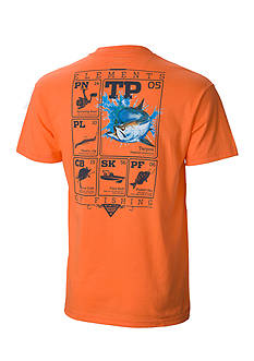 Columbia Big & Tall PFG Elements Tarpon™ Short Sleeve Graphic Tee