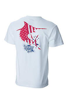 Columbia PFG Short Sleeve Americana Marlin™ Graphic Tee
