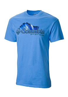Columbia PFG Short Sleeve Shifting Shoreline Sailfish Graphic Tee