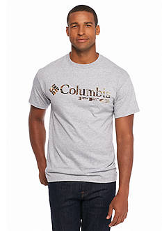 Columbia PFG Logo™ Short Sleeve Camo Graphic Tee