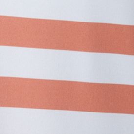 Mens Outdoor Clothing: Polo Shirts: Bright Peach Stripe/White Columbia Super Low Drag Polo Shirt