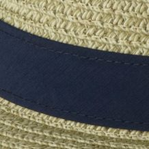 Men's Accessories: Caps & Hats: Fossil, Collegiate Navy Columbia™ PFG Bonehead Straw Hat