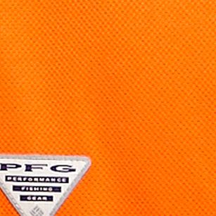 Mens Short Sleeve Polo Shirts: Spark Orange Columbia™ Perfect Cast Polo