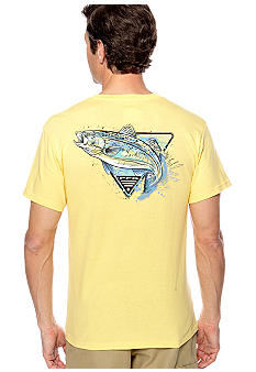 Columbia PFG Seatroat Splash Short Sleeve Tee