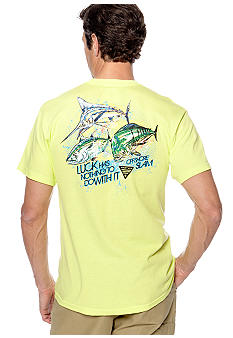 Columbia Big & Tall PFG Off Shore Charm Short Sleeve Tee
