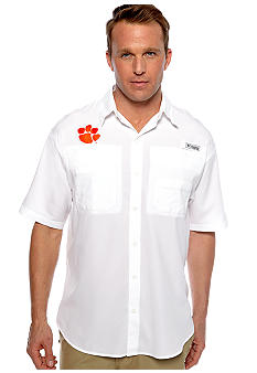 Columbia Collegiate Tamiami Woven Shirt (Additional Schools Available)