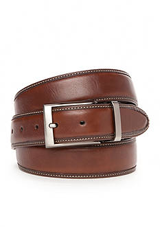 Geoffrey Beene Big & Tall 1 1/2 in. Reversible with Stitch Edge Belt