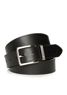 Nautica Big & Tall Feather Edge Stich Reversible Belt