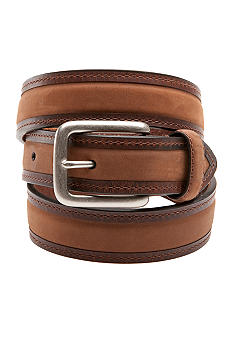 Columbia Men's Center Padded Leather Casual Belt