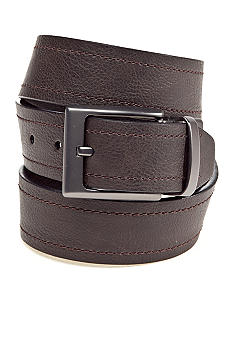 Columbia Big & Tall Reversible Leather Belt