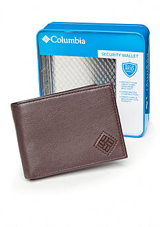 Columbia Slimfold RFID Security Wallet