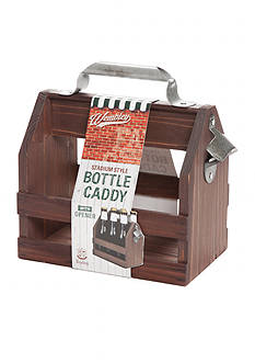 Wembley™ 6 Pack Wooden Bottle Caddy