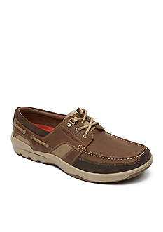 Rockport Street Sailing 3 Eye Boat Shoe