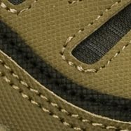 Skechers: Olive Green Skechers Afterburn M.Fit Sneaker