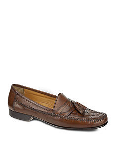 Johnston & Murphy Latimer Woven Moc Slip-on