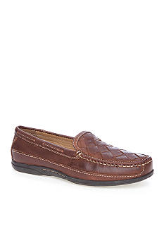 Johnston & Murphy Trevitt Woven Venetian Slip-on Shoes