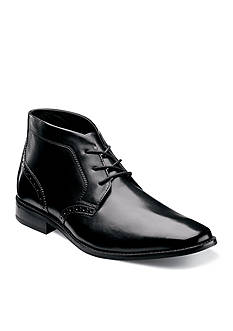 Florsheim Castellano Plain Toe Chukka Boot Black