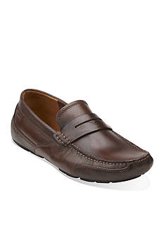 Clarks Ashmont Way Brown Shoe