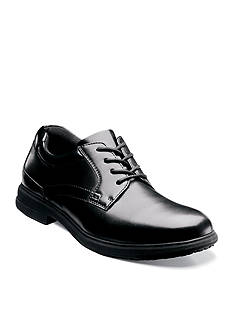 Nunn Bush Sherman Slip-Resistant Work Oxford - Available in Extended Sizes - Online Only