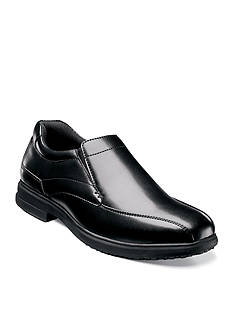Nunn Bush Sanford Slip-Resistant Work Slip-On - Available in Extended Sizes - Online Only