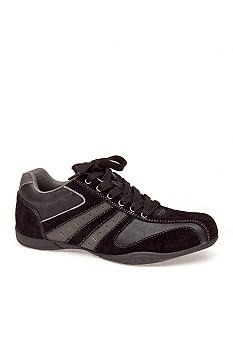 Perry Ellis Biker Black Lace-up
