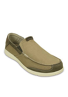 Crocs Walu Luxe Canvas Loafer
