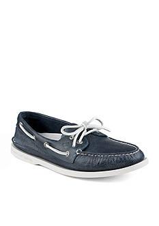 Sperry A/O 2-Eye Whitecap Boat Shoe