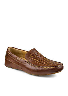 Sperry Gold Kennebunk Woven Moccasin