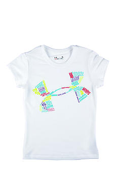 Under Armour Icon Fonts Tee Toddler Girl