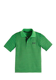 Under Armour Short Sleeve Striped Polo Toddler Boys
