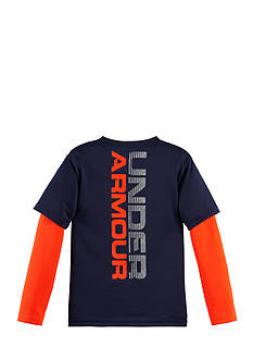 Under Armour Metallic Wordmark Slider 2Fer Tee Toddler Boys