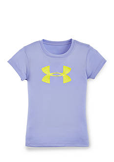 Under Armour Big Logo Glitter Tee Toddler Girls