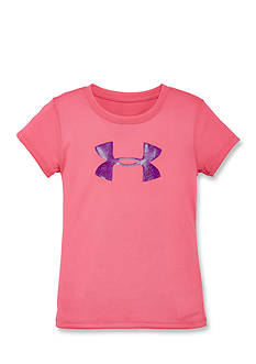 Under Armour Glitter Big Logo Tee Toddler Girls