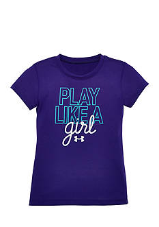 Under Armour 'Play Like a Girl' Tee Toddler Girls